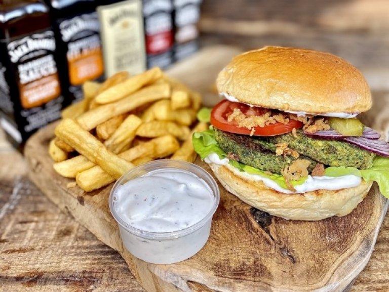 Burger Spinacci